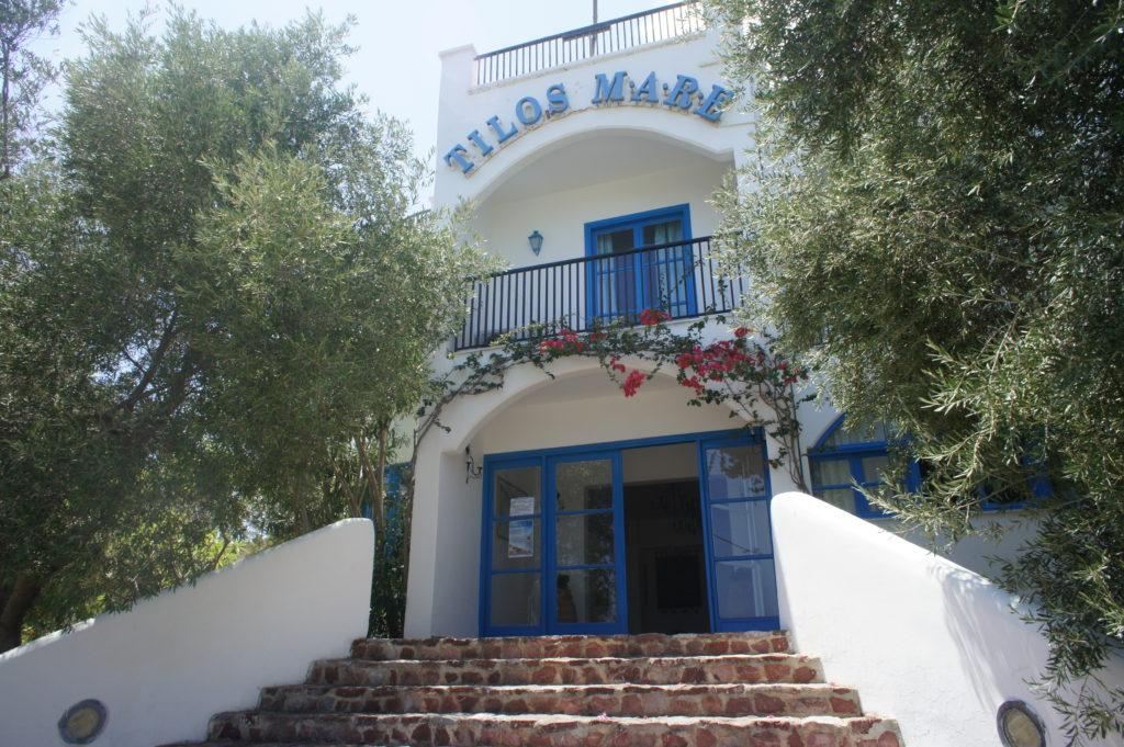 Hotel sul mare in Grecia a Tilos