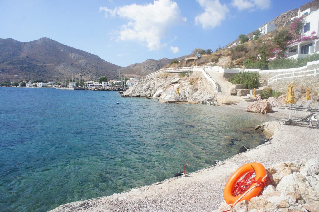 Hotel Village con Piscina a Tilos in Grecia
