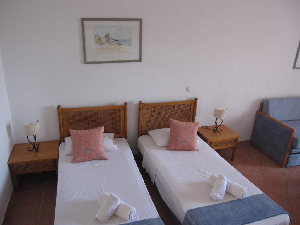Hotel con aria condizionata in Grecia a Piscopi